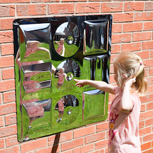 Sensory Bubble Mirror With No Frame  medium
