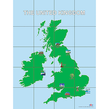 Pro-Bot UK and Rep. of Ireland Map Mat  medium