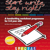 Start Write Stay Right 2 Handwriting Worksheets  small