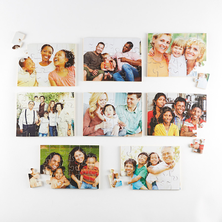 Photographic Modern Families Puzzles 8pk  large