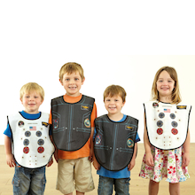 Role Play Dressing Up Space Tabards 4pcs  medium