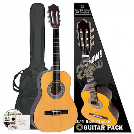 Encore Classic Nylon String Guitar   large