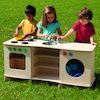 Outdoor Role Play Kitchen Unit  small