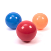 Colourful PVC Metallic Balls 3pk  small