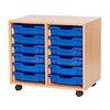 VALUE 12 Tray Storage Unit with Trays  small