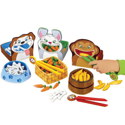 Feed The Animals Fine Motor Skills Games Set of 3  large