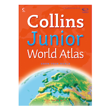 Collins Junior World Atlases KS2  medium