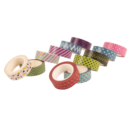 Printed Craft Tapes 12pk  large