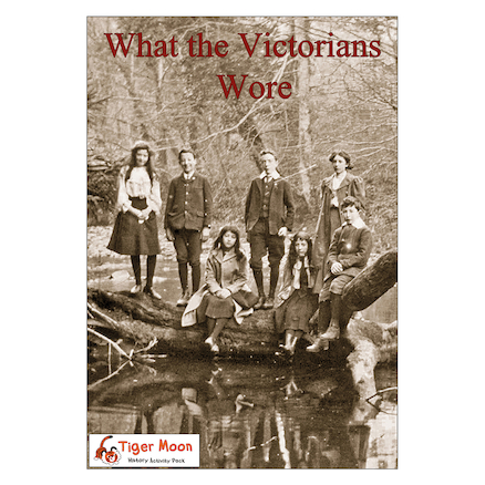 Victorian Clothing Photo Activity Pack A4 22pk  large