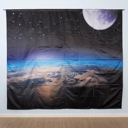 Immersive Environments Backdrops Space  large