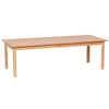 Large Rectangular Wooden Table  small