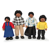 Small World Multicultural Dolls House Families  small